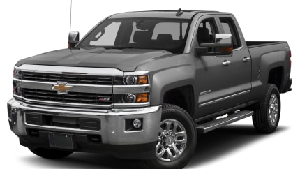 2017 Chevrolet Silverado 2500HD - 4x2 Double Cab 6.6 ft. box 144.2 in. WB (LTZ)