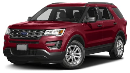 2017 Ford Explorer - 4dr Front-wheel Drive (Base)