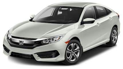 2016 Honda Civic - 4dr Sedan (LX)