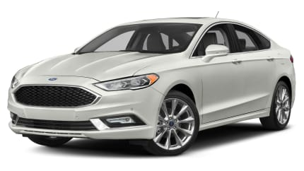 2017 Ford Fusion - 4dr Front-wheel Drive Sedan (Platinum)