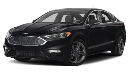 2017 Ford Fusion - 4dr All-wheel Drive Sedan (Titanium)