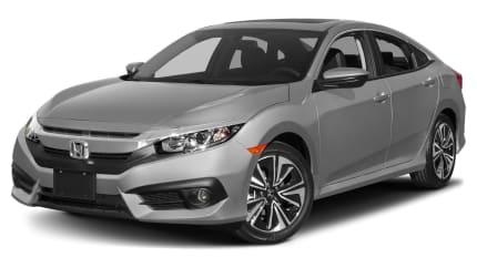 2017 Honda Civic - 4dr Sedan (EX-L)