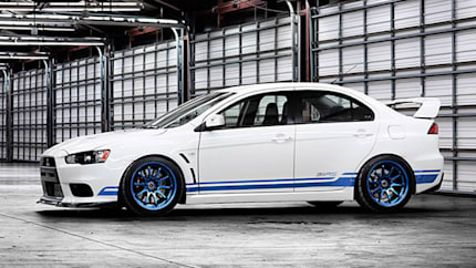limited edition mitsubishi 311rs evo x coming to minneapolis auto show wvideo