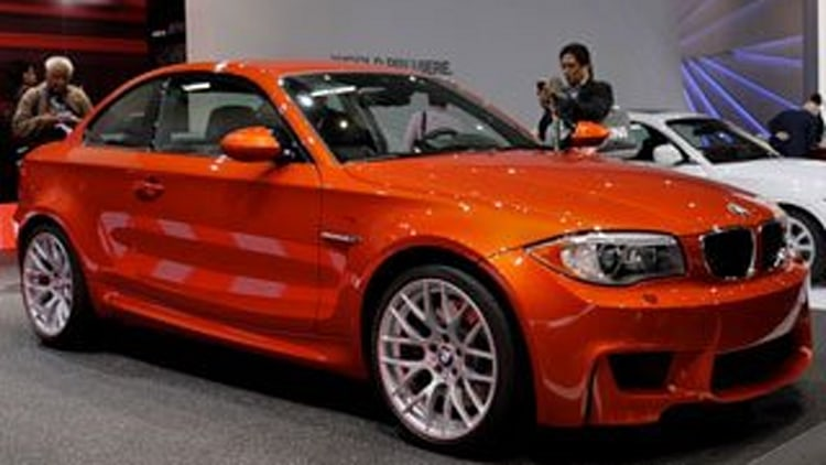 2012 BMW 1 Series M Coupe
