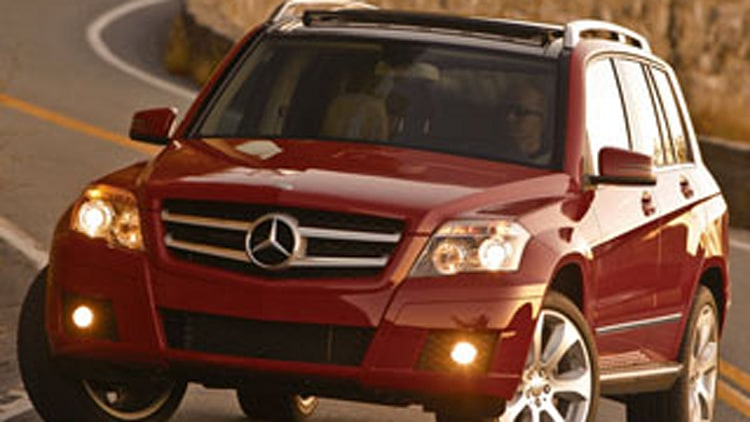 Entry Premium Crossover/SUV: Mercedes-Benz GLK-Class