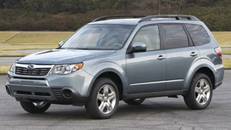 Active Lifestyle:  Subaru Forester