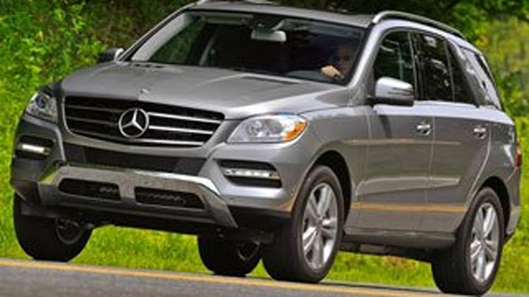 Honorable Mention: 2012 Mercedes-Benz M-Class
