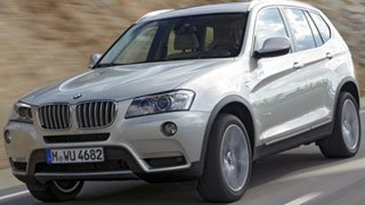 SUV Honorable Mention: 2011 BMW X3