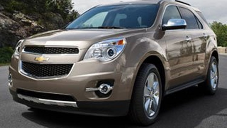 Affordable Compact SUV (2 Row) - Chevrolet Equinox