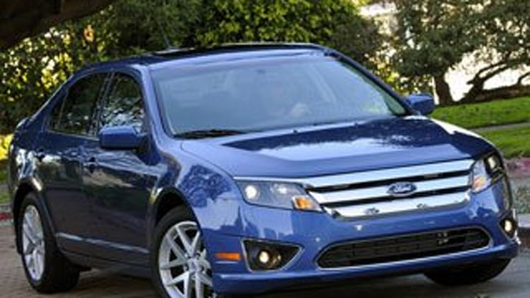 Affordable Midsize Car - Ford Fusion