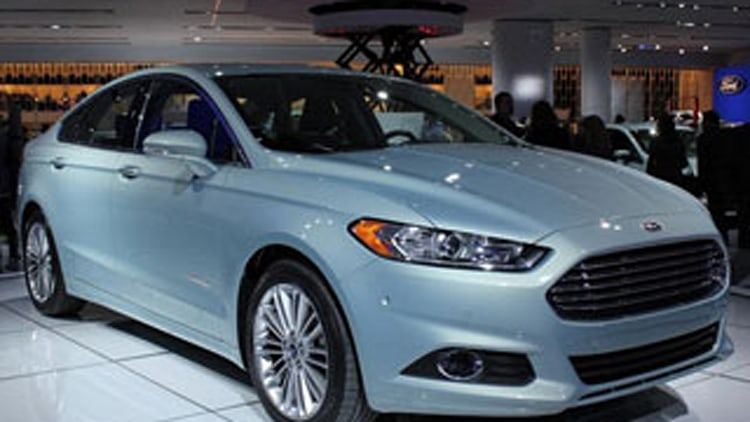 Ford Fusion Hybrid and Plug In