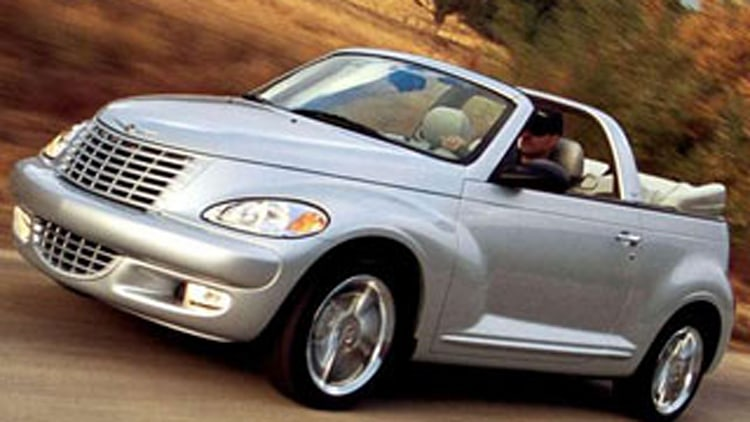 20. Chrysler PT Cruiser Convertible
