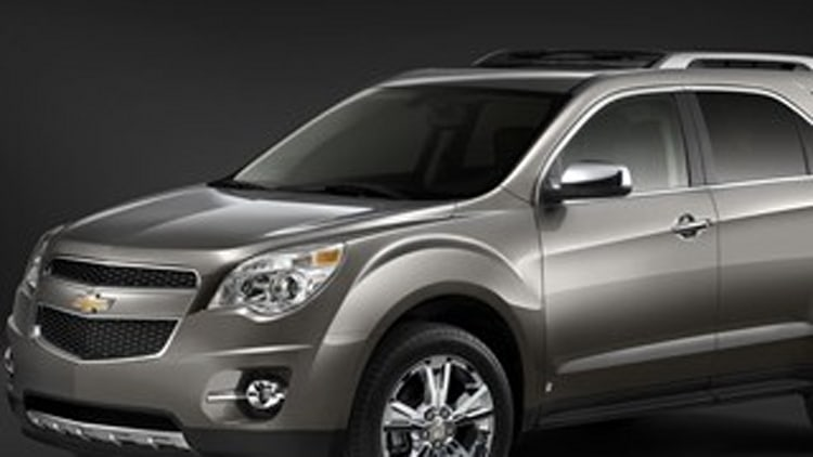 Best CUV No. 1: Chevy Equinox