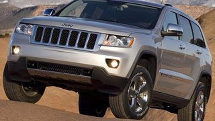 Midsize Crossover/SUV Third Place (tie): Jeep Grand Cherokee