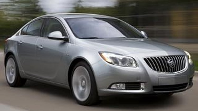 2. 2012 Buick Regal Turbo w/ 1SN