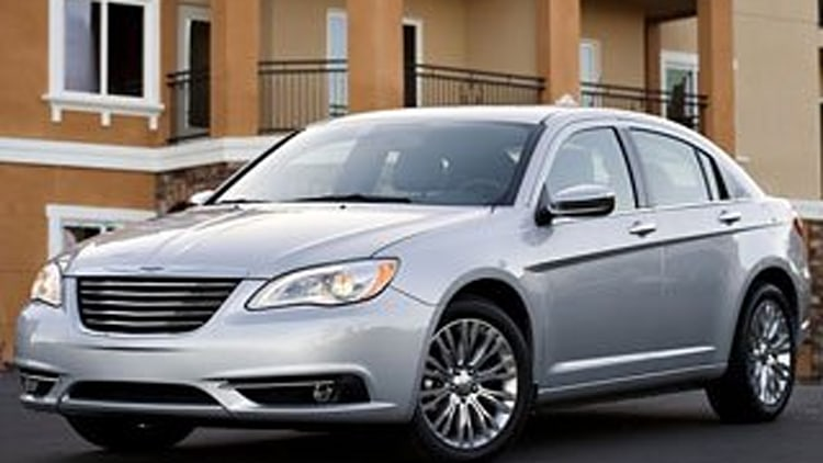 9. 2012 Chrysler 200 Limited