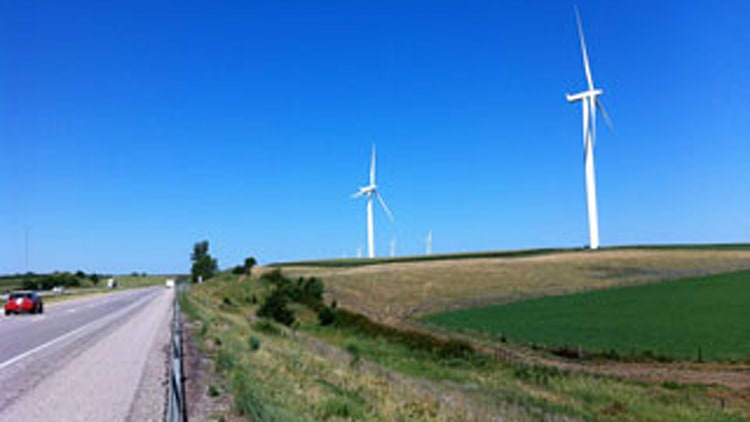 Windy City and Wind Mills