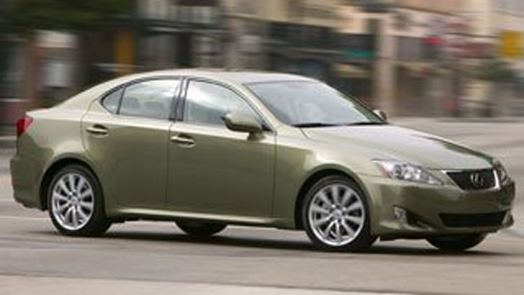 5. 2012 Lexus IS 250