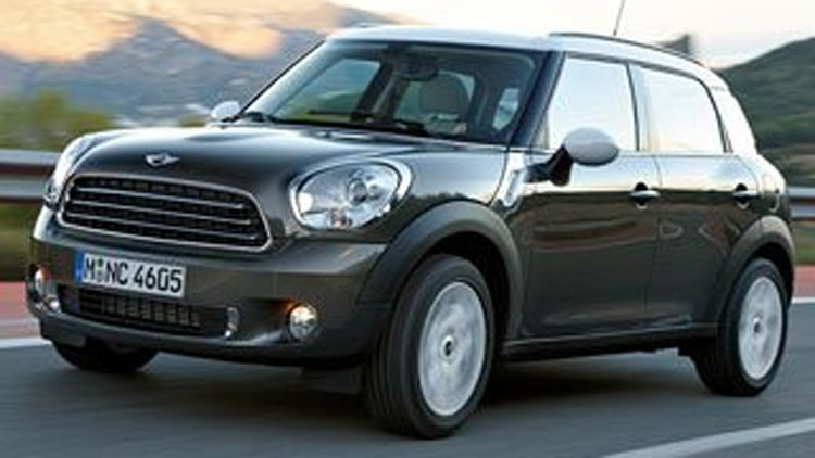 Best Compact Crossover SUV: MINI Countryman
