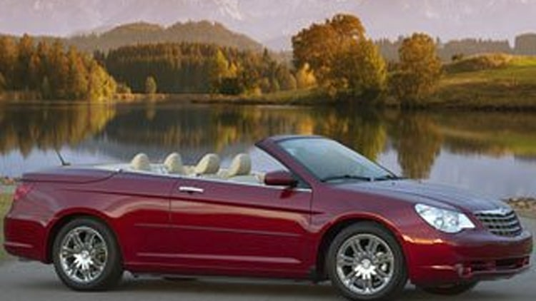 7. Chrysler Sebring Convertible