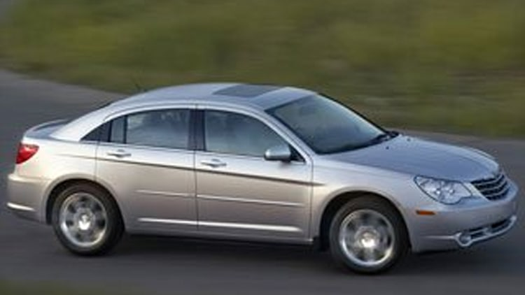 8. Chrysler Sebring