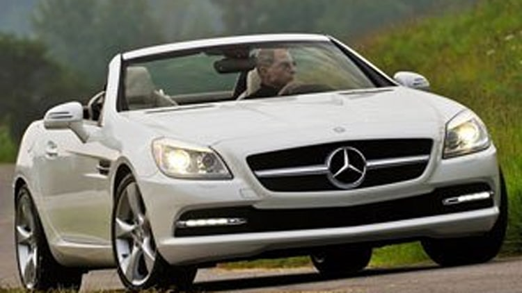 Best Compact Premium Sporty Car: Mercedes-Benz SLK