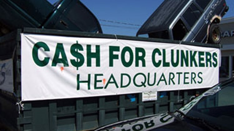 #1 Best Idea: Cash for Clunkers