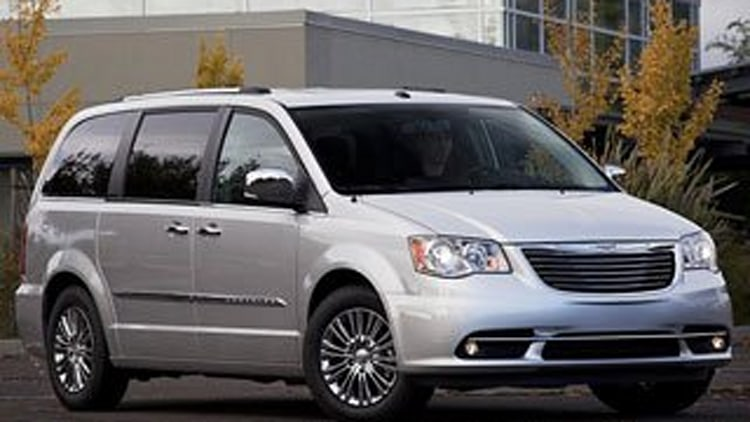 3. Chrysler Town & Country