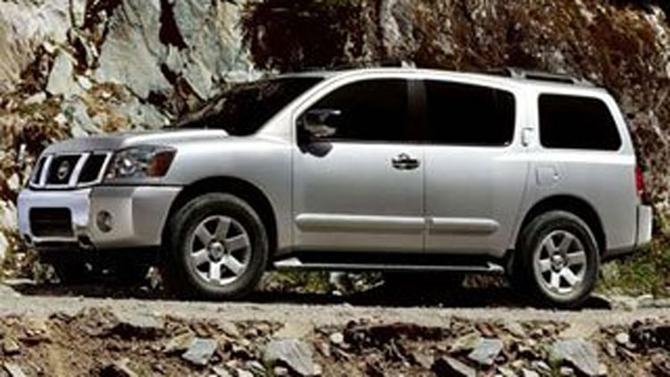 Large/Luxury SUV - Nissan Armada