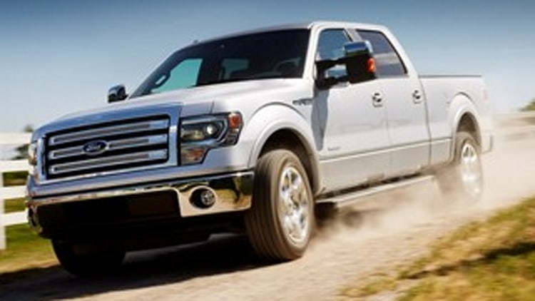 What Not To Drive in Snow: Ford F-150 4X2