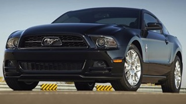 What Not To Drive in Snow: Ford Mustang