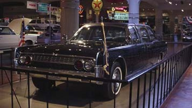Kennedy's Limousine: SS-100-X