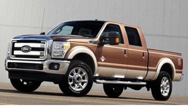 5. Ford F-350