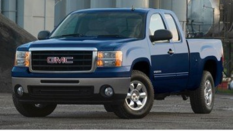 8. GMC Sierra 1500 Extended Cab