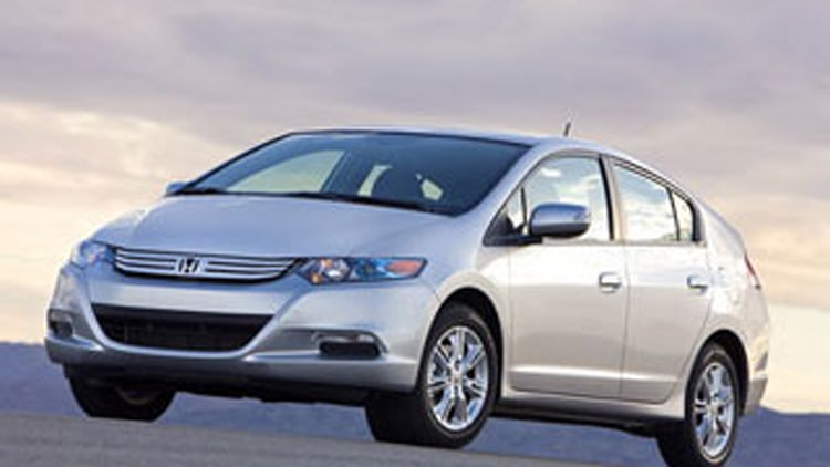 4. Honda Insight Hybrid