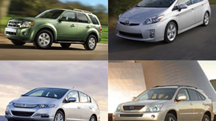 Which Hybrids Qualify For Cash for Clunkers Discounts?