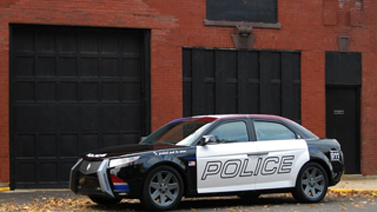 Future Cop Car: Coming To A Highway Near You