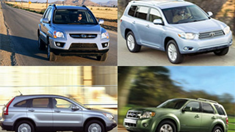 Which SUVs Qualify For Cash for Clunkers Discounts?
