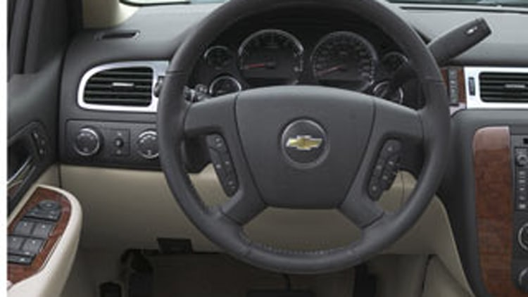 Reason #1: Visibility From Driver's Seat