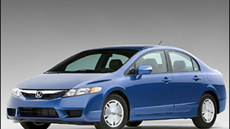 10. Honda Civic Hybrid