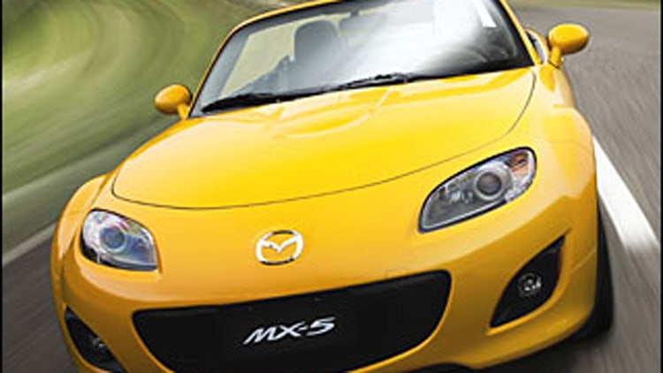 Two-Seaters - Mazda MX-5