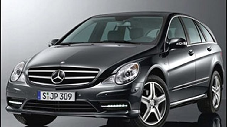 Mercedes-Benz R-Class: A Marketing Mystery