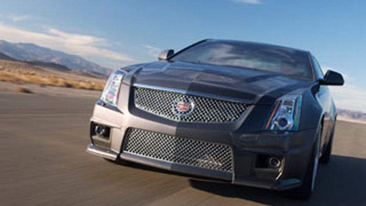 2011 CTS-V Coupe Unveiled: Like The Sedan, Big On Power