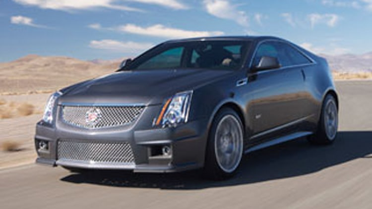 2011 CTS-V Coupe Unveiled: What's Different?