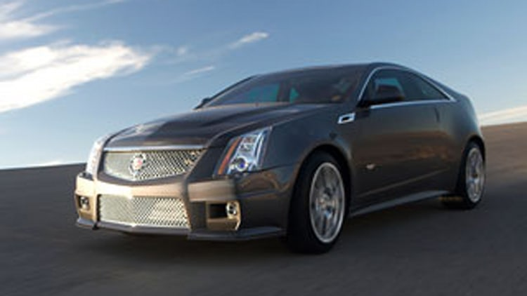 2011 CTS-V Coupe Unveiled: On Sale