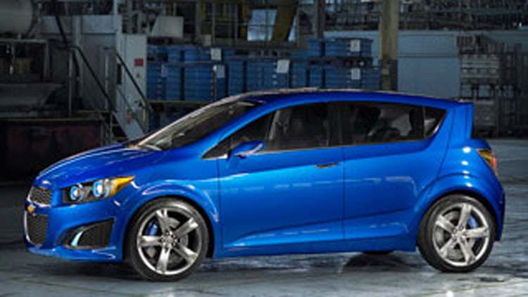 Chevy Aveo RS Concept: The Next Aveo