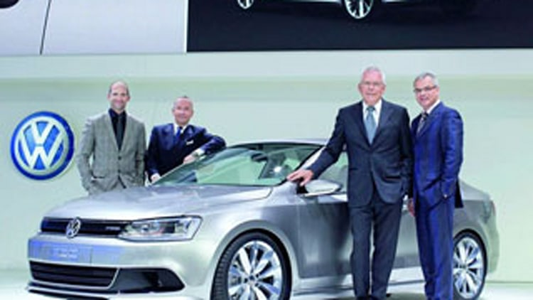 VW Compact Coupe Concept HybridBest Look At A Future Production Car