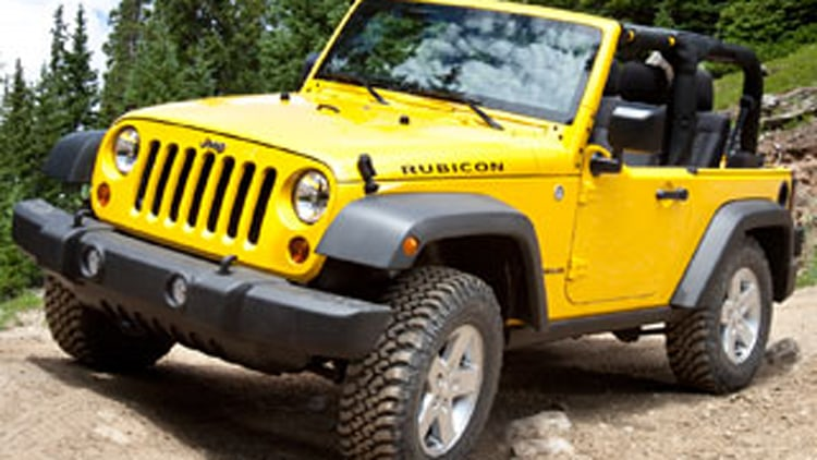 Your Father's Oldsmobile: Jeep Wrangler