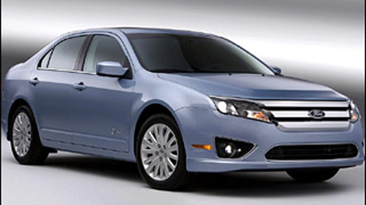Cheap Hybrids: Ford Fusion Hybrid