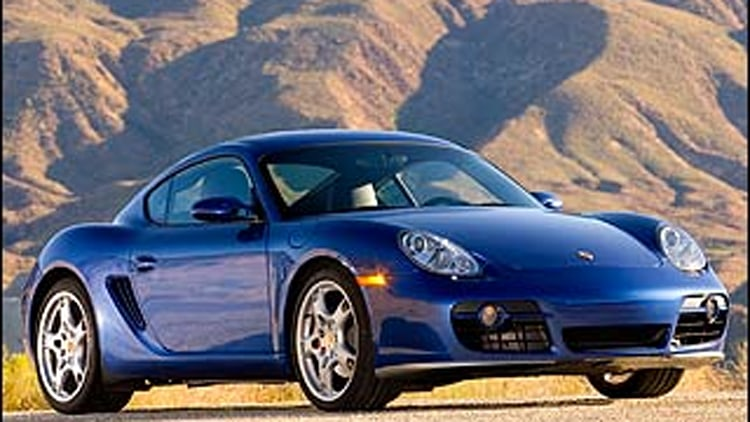 2008 Porsche Boxster and Cayman